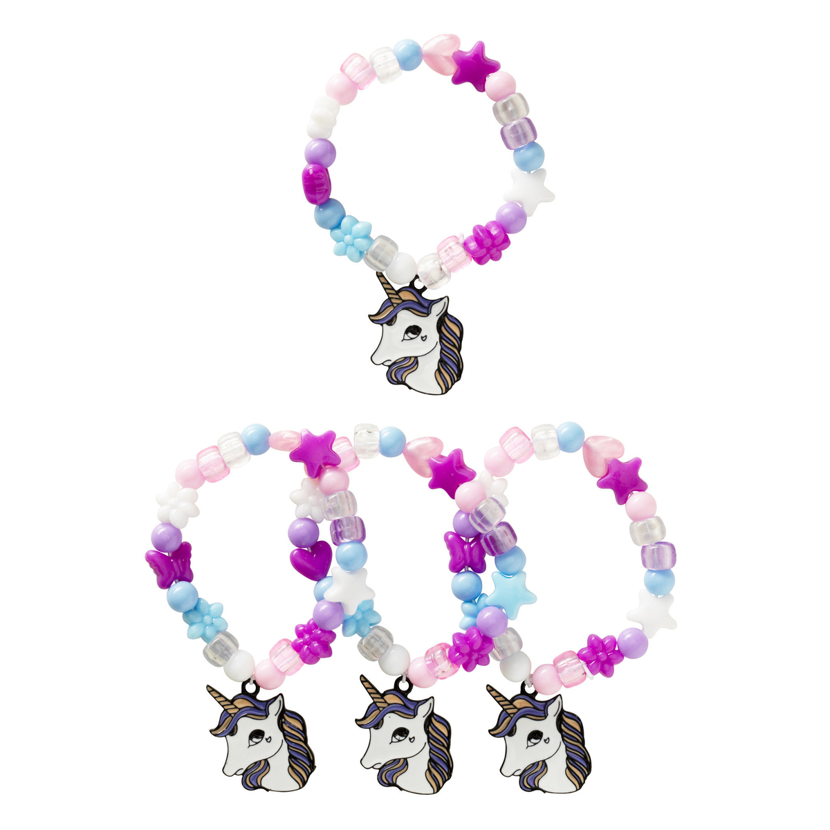 Unicorn Bracelets kit 4 st