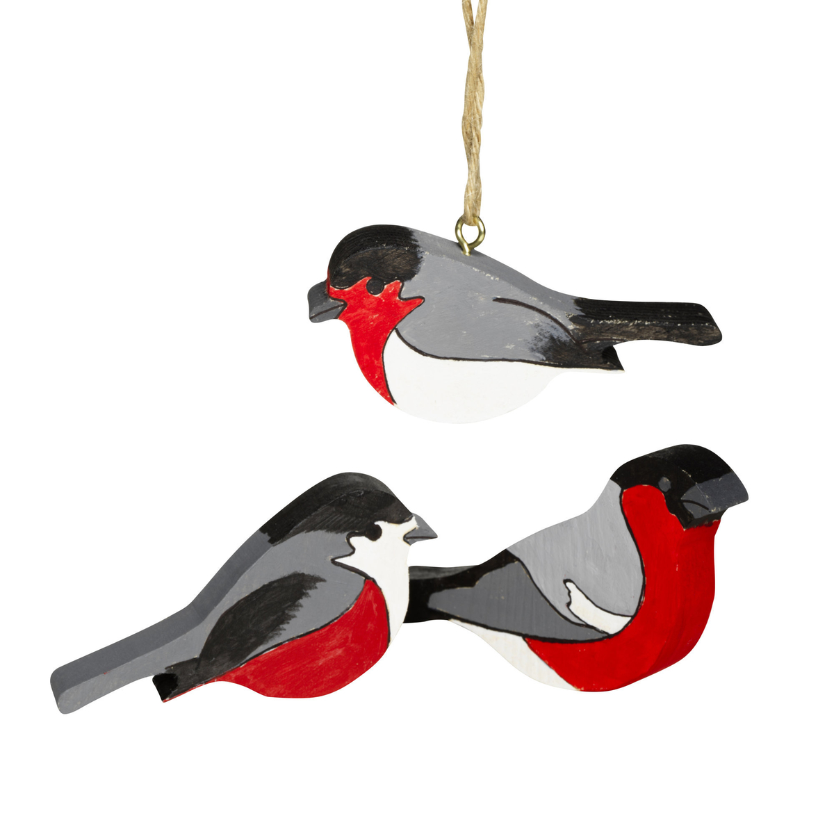 DIY kit Christmas Birds 5 st