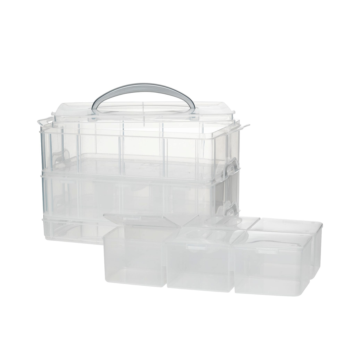Picture of: Stackable Large Storage X 3
