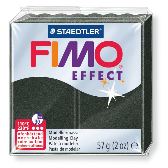 Fimo effect Pearl Black