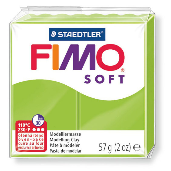 Fimo Soft 57g Apple Green