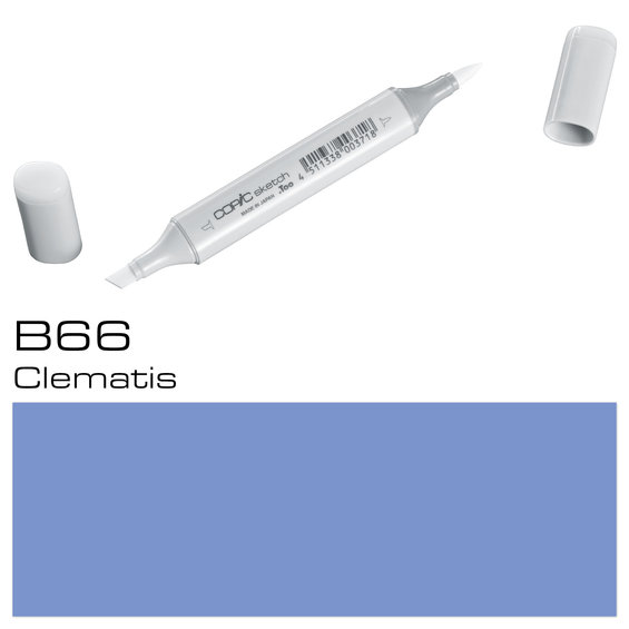 Copic Sketch B66 Clematis