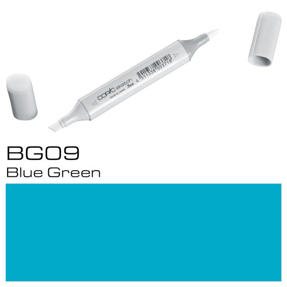 Copic Sketch BG09 Blue Green