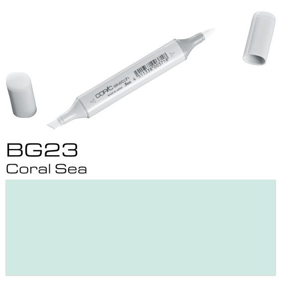 Copic Sketch BG23 Coral Sea