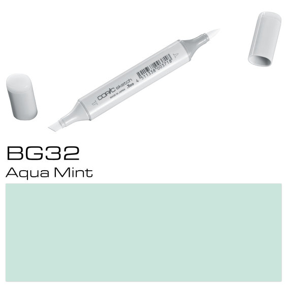 Copic Sketch BG32 Aqua Mint