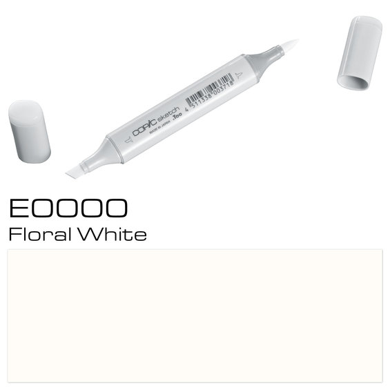 Copic Sketch E0000 Flor. White