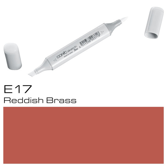 Copic Sketch E17 Reddish Brass