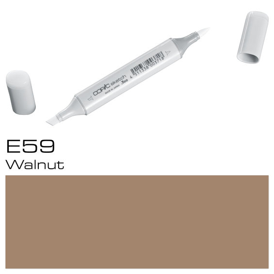Copic Sketch E59 Walnut