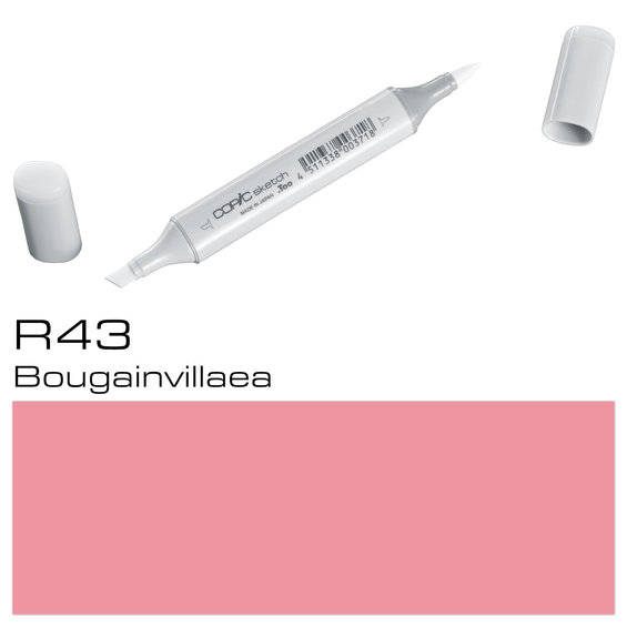 Copic Sketch R43 Bougainvillae