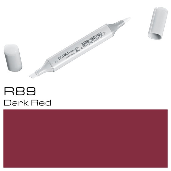 Copic Sketch R89 Dark Red