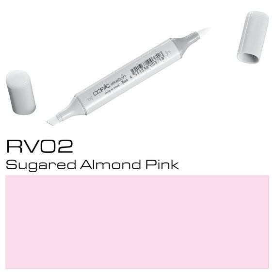 Copic Sketch RV02 Su.Alm. Pink