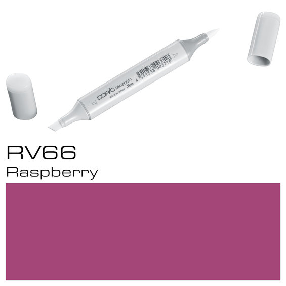 Copic Sketch RV66 Raspberry