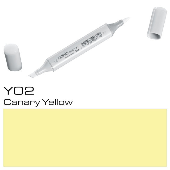 Copic Sketch Y02 Canary Yellow