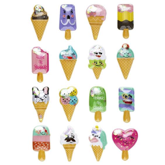 Shaker stickers Ice Cream 16st