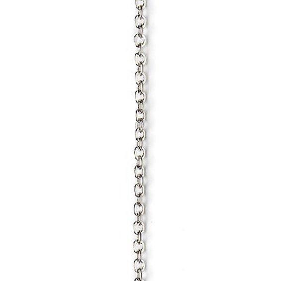 232a4732ae2 Kæde 2,5 mm 1 m sølvf.