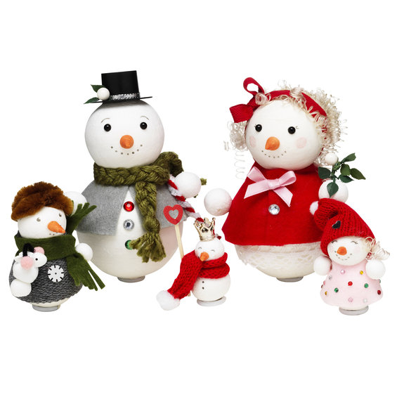 DIY kit Snow Family up for Fun