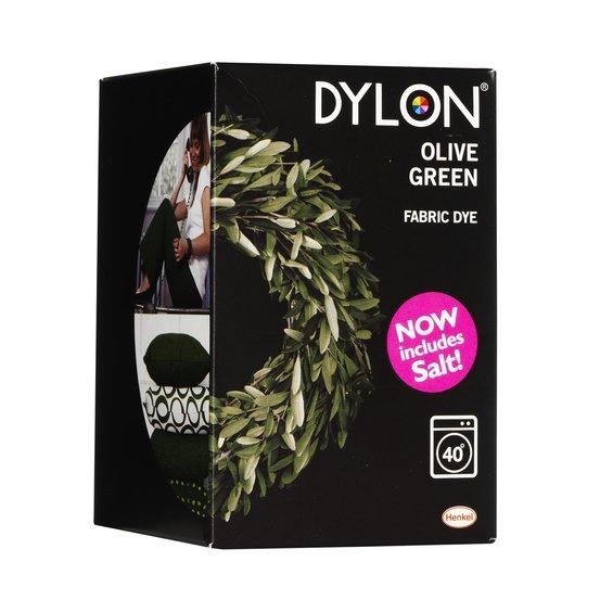 dylon maskinf rg olive green. Black Bedroom Furniture Sets. Home Design Ideas