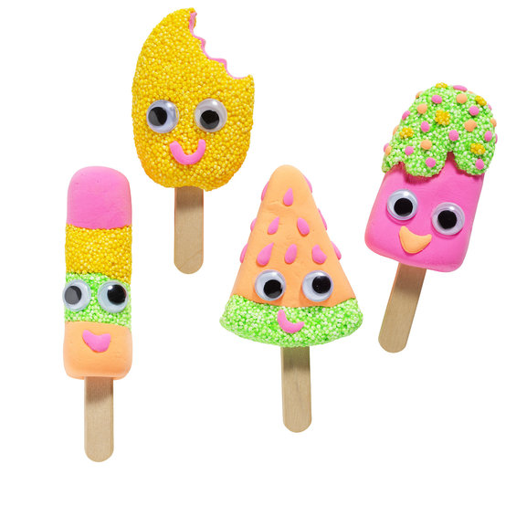 DIY kit Funny Ice Creams