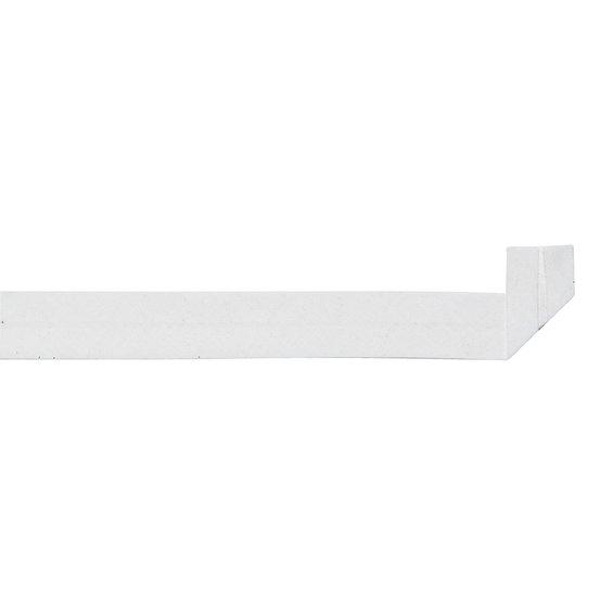 Skråband 20 mm bomull grå