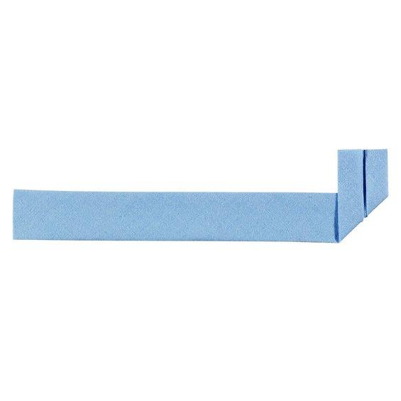 b2301d1a Skråband 20 mm bomull ljusblå