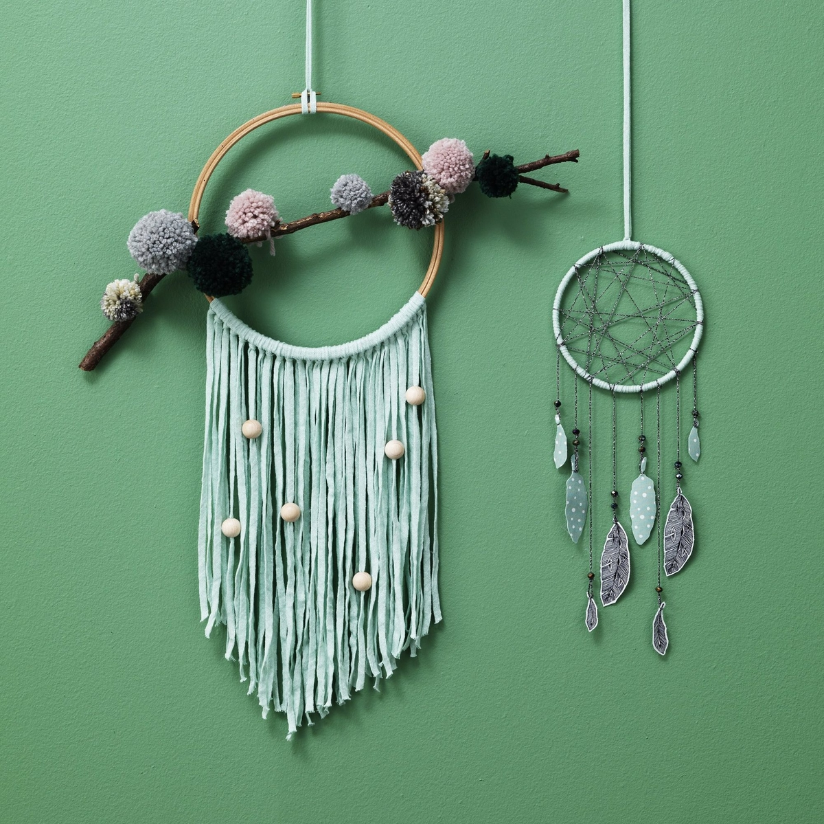 Sleep well with a dream catcher