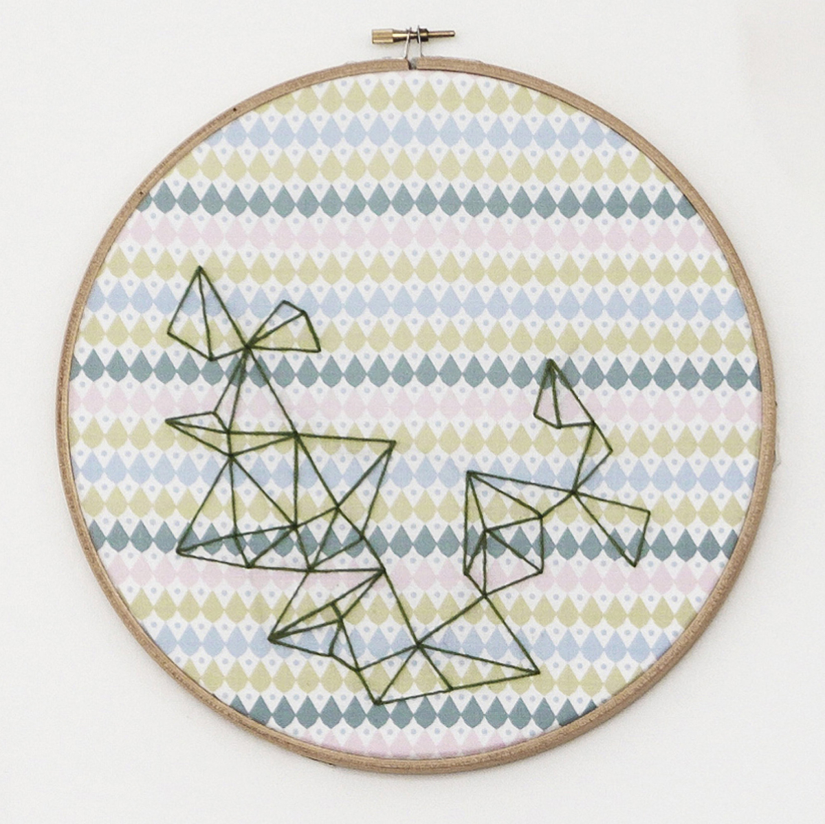 Embroider a picture