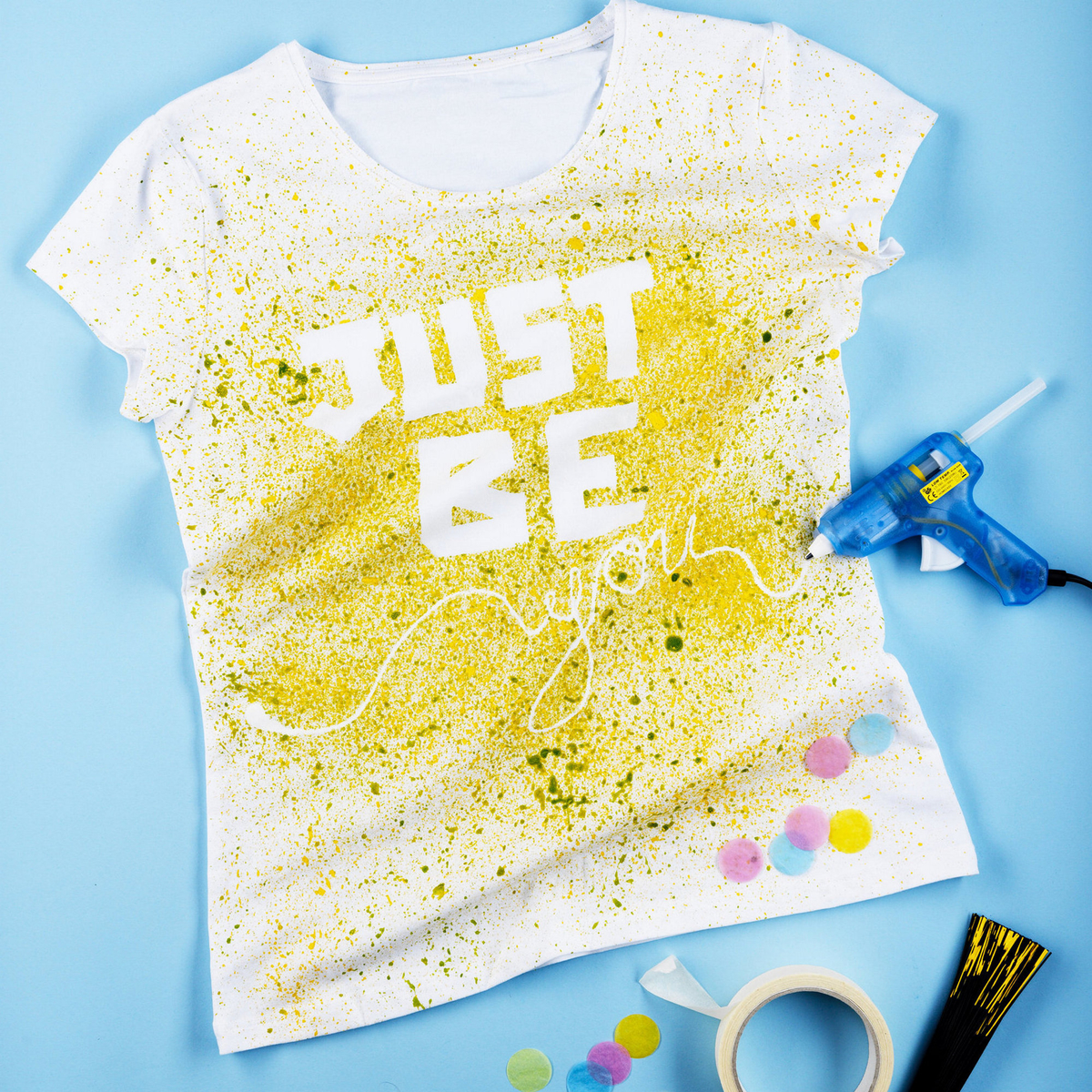 Decorate a T-shirt