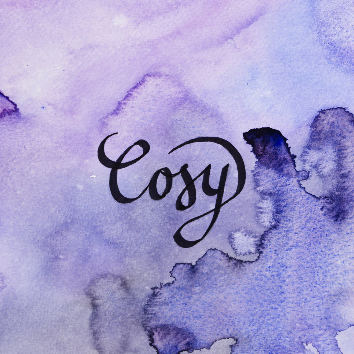Watercolour & text