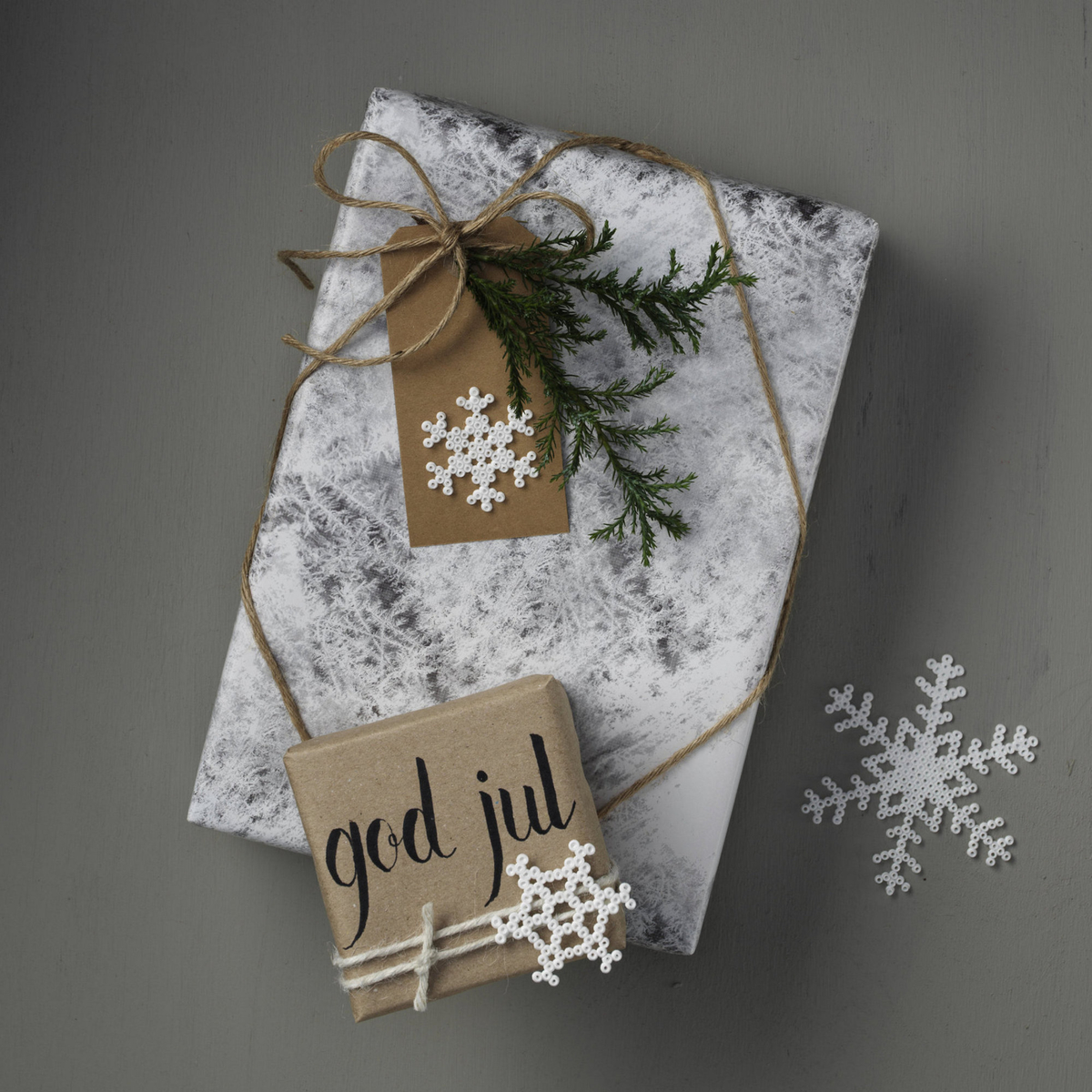 Winter-white Christmas gifts