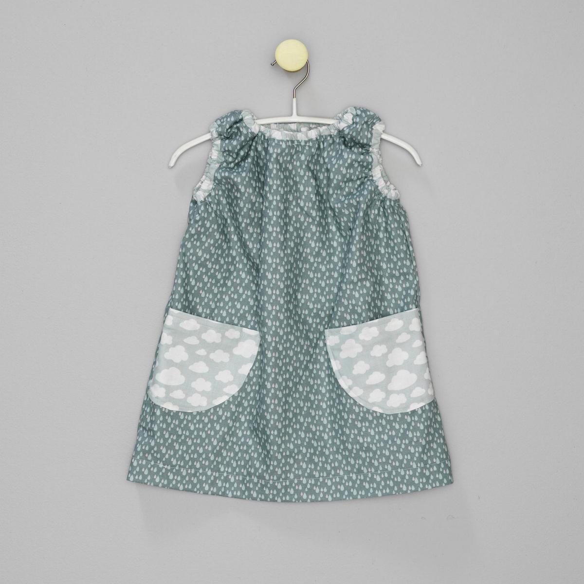 e841de8b Burda kjole 1-3 år