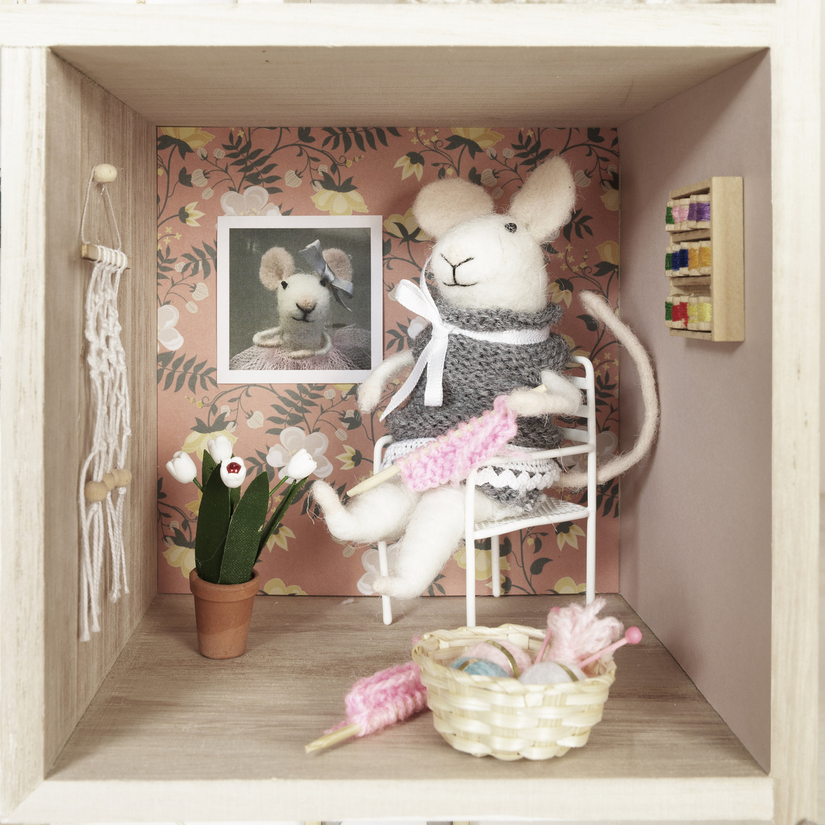 Grandmother Mouse's Sewing Room