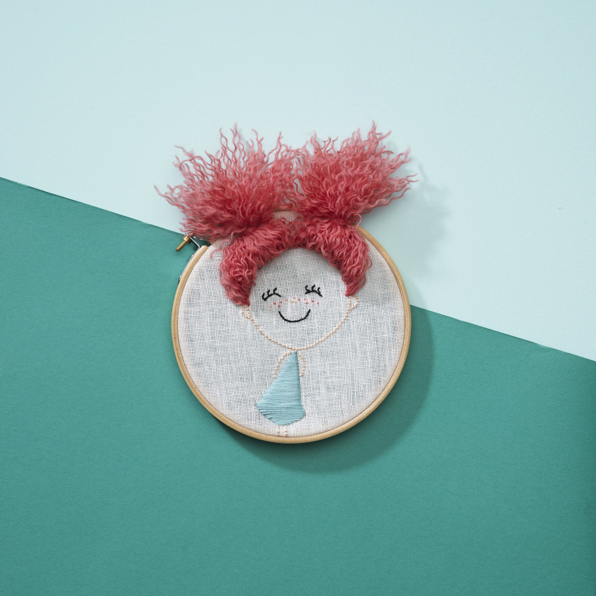 Playful embroidery