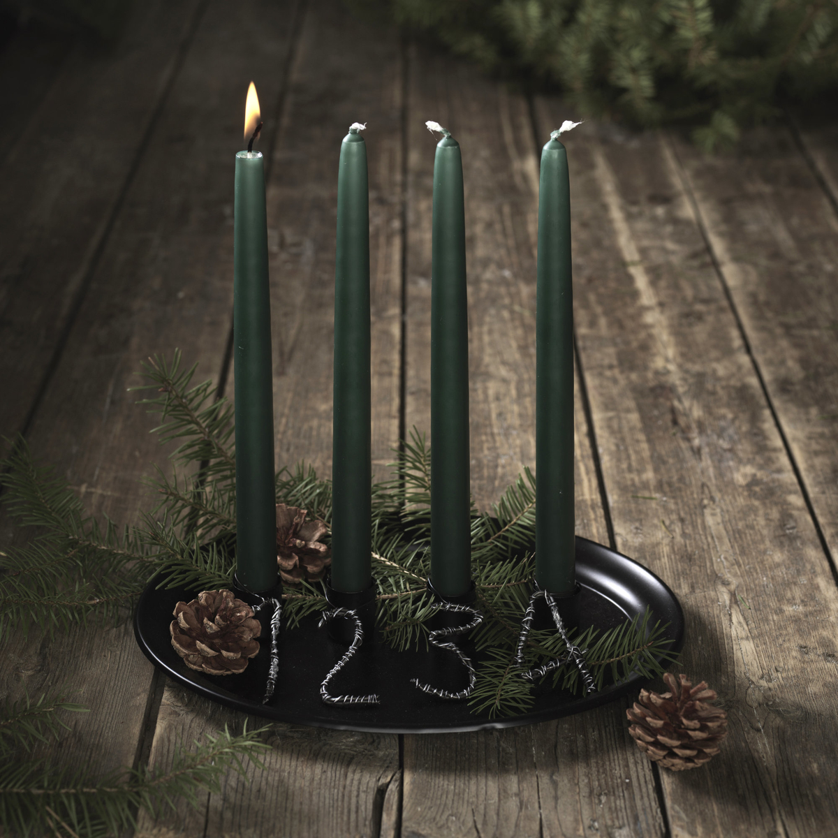 Make Your Own Advent Candle Holder