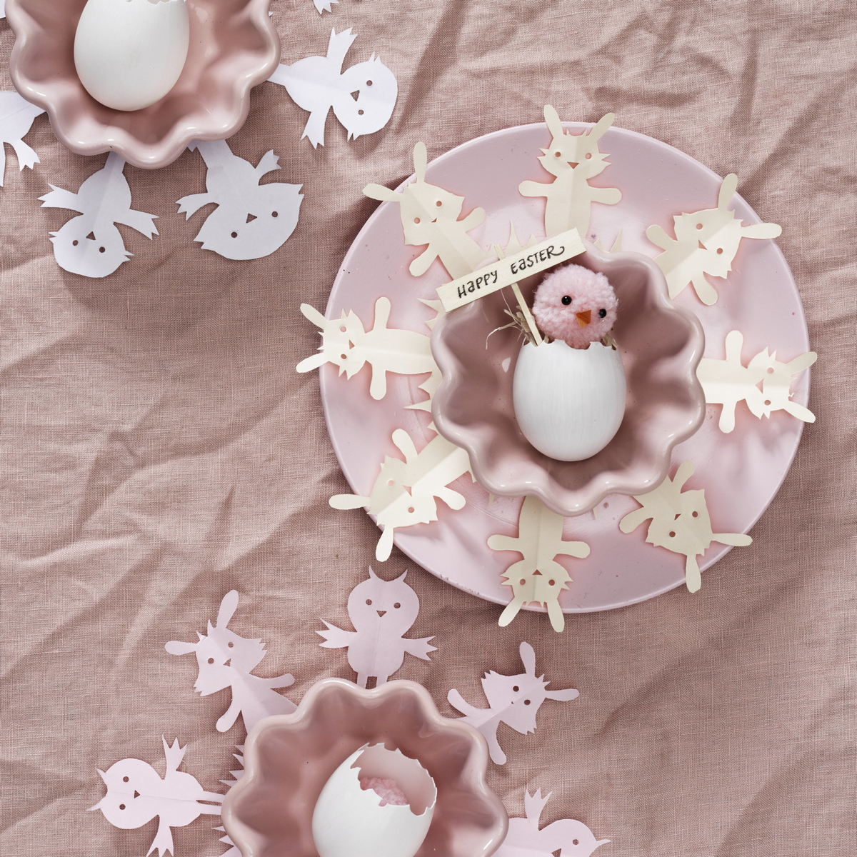 Cut out adorable Easter figures